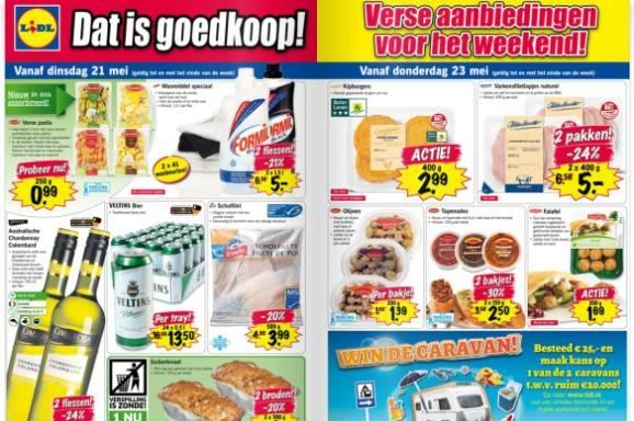 supermarkt folder